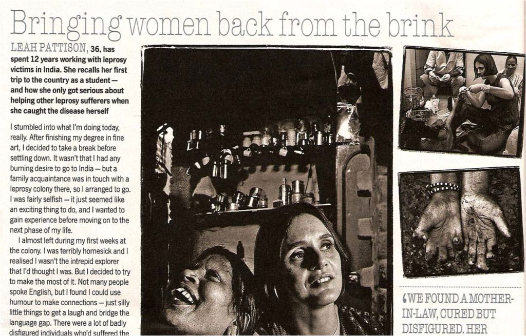 Lead Pattinson - Bringing Women Back From the Brink - Sunday Times cropped