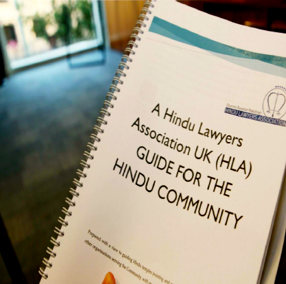 Hindu Lawyers Association Guide launch with ACC