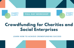 Crowdfunding trainin - Charity Clarity - 13 Sept 2018