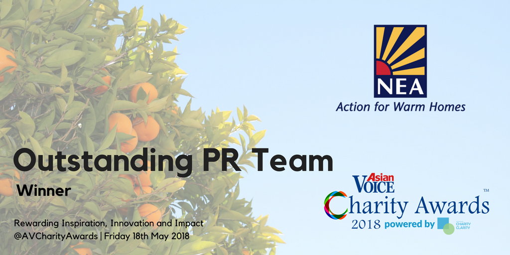 Charity Awards Shortlist 2018 - PR campaign