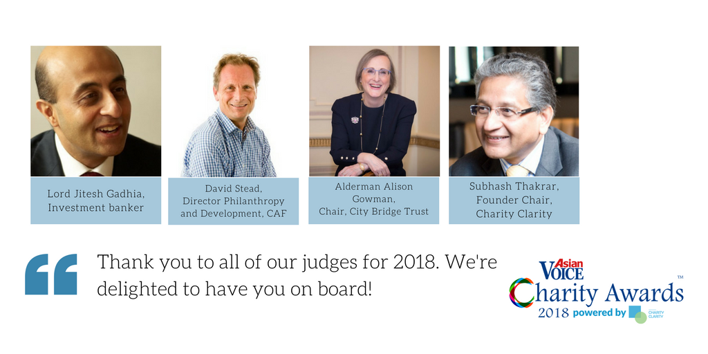 Judges // Charity Awards 2018