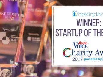 Charity Awards - One Kind Act - Startup of the Year Winner