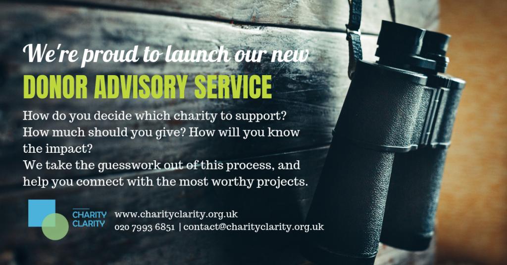 Charity Clarity Donor Advisory Service